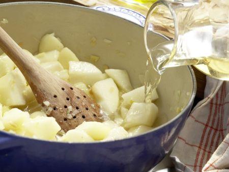Hirschsteaks aus dem Ofen: Zubereitungsschritt 4