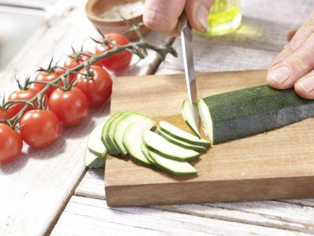 Hirse-Gemüse-Pfanne: Zubereitungsschritt 3