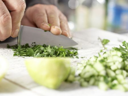 Hirsesalat: Zubereitungsschritt 4