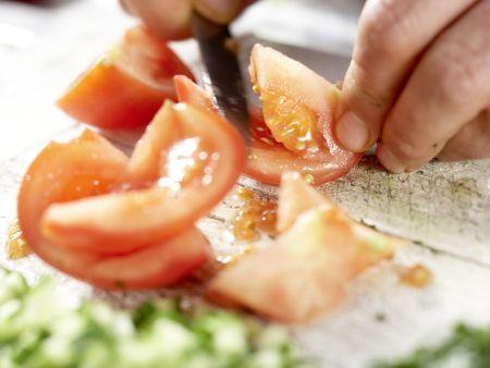 Hirsesalat: Zubereitungsschritt 5