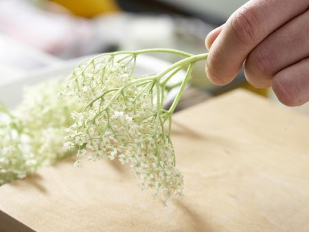 Holunderblüten-Gelee: Zubereitungsschritt 1