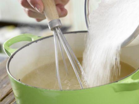 Holunderblüten-Gelee: Zubereitungsschritt 7