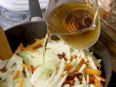 Honig-Gemüse: Zubereitungsschritt 3