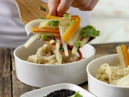 Honig-Gemüse: Zubereitungsschritt 8