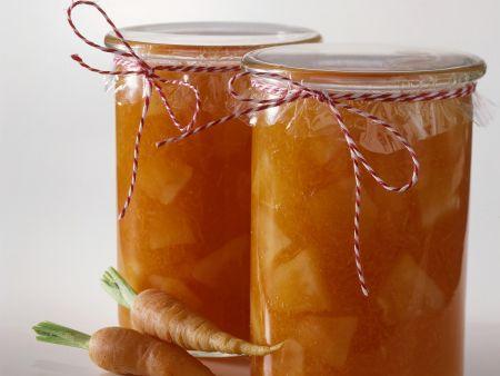Honig-Möhren-Marmelade