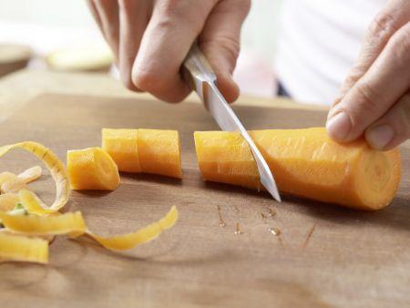 Honigkuchen mit Orangencreme: Zubereitungsschritt 10