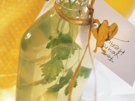 Rezept: Honigwein mit Kräutern