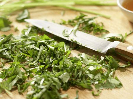 Hummer-Papaya-Salat: Zubereitungsschritt 1