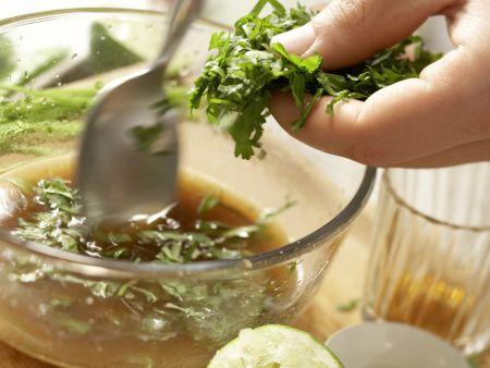 Hummer-Papaya-Salat: Zubereitungsschritt 2