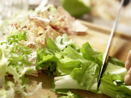 Hummer-Papaya-Salat: Zubereitungsschritt 7