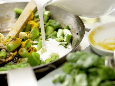 Indische Crêpes: Zubereitungsschritt 9