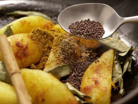 Indische Kartoffeln: Zubereitungsschritt 6