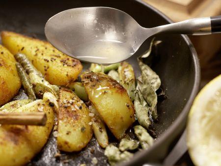 Indische Kartoffeln: Zubereitungsschritt 7