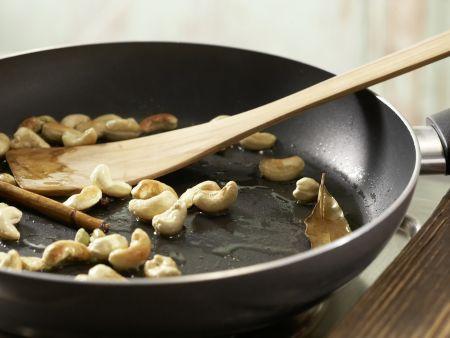 Indische Reis-Gemüse-Pfanne: Zubereitungsschritt 3