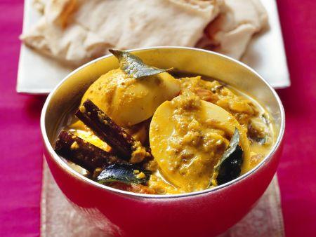 Indisches Curry mit Ei