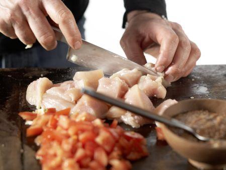 Indisches Hähnchen-Curry: Zubereitungsschritt 7