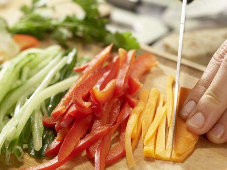 Indonesischer Salat: Zubereitungsschritt 4