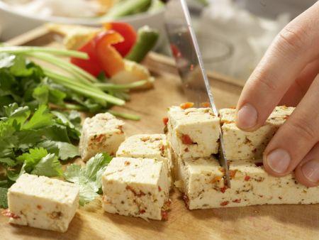 Indonesischer Salat: Zubereitungsschritt 6