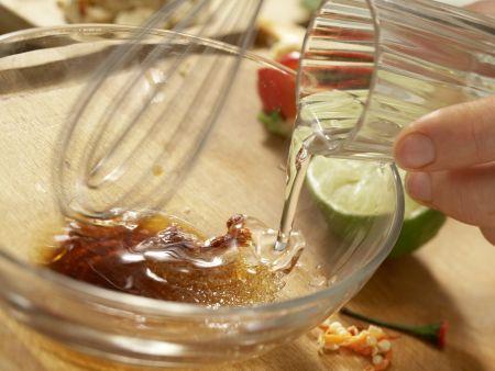 Indonesischer Salat: Zubereitungsschritt 7