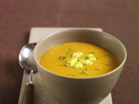 Rezept: Ingwer-Süßkartoffelsuppe