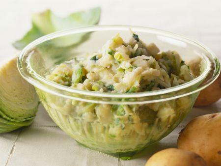 Irischer Kohl-Kartoffel-Topf