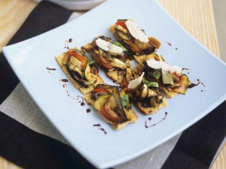 Italienische Gemüse-Canapes