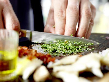 Italienisches Jägerschnitzel – smarter: Zubereitungsschritt 3