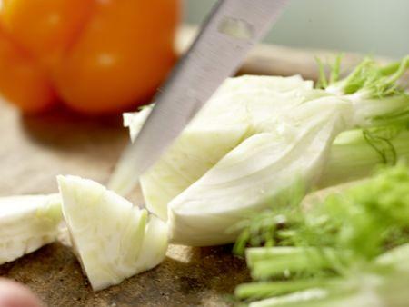 Italienisches Ofengemüse: Zubereitungsschritt 1