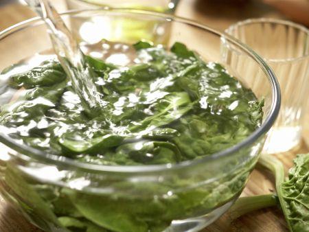 Jakobsmuscheln zwischen Wan-Tan-Blättern: Zubereitungsschritt 10