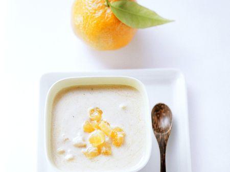 Joghurtdressing mit Mandarine
