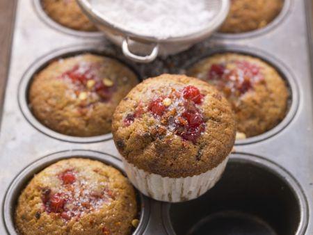 Johannisbeer-Vanille-Muffins