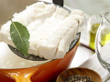 Kabeljau auf Gemüsesalat: Zubereitungsschritt 10