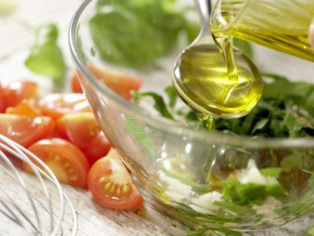 Kabeljau auf Gemüsesalat: Zubereitungsschritt 7