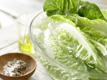 Kabeljau auf Gemüsesalat: Zubereitungsschritt 8