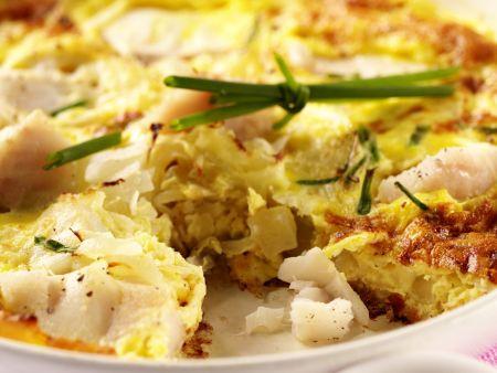 Kabeljau-Omelett