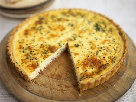 Käse-Speck-Quiche