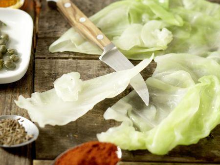 Kalbfleisch-Kohlrouladen – smarter: Zubereitungsschritt 4