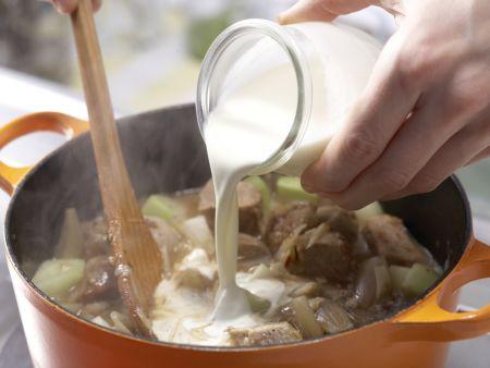 Kalbsragout mit Kohlrabi: Zubereitungsschritt 8
