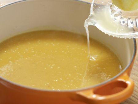 Kalte Süßkartoffelsuppe mit Tomaten: Zubereitungsschritt 6