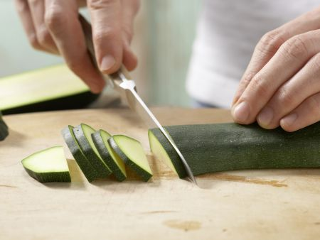 Karamellisierter Tofu: Zubereitungsschritt 1
