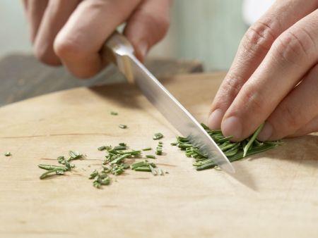 Karamellisierter Tofu: Zubereitungsschritt 2