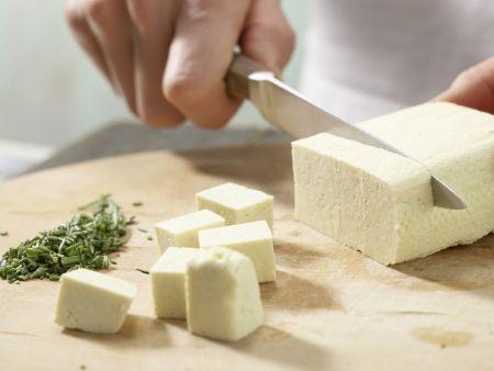 Karamellisierter Tofu: Zubereitungsschritt 3
