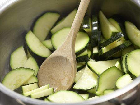 Karamellisierter Tofu: Zubereitungsschritt 4