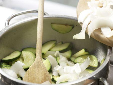 Karamellisierter Tofu: Zubereitungsschritt 6