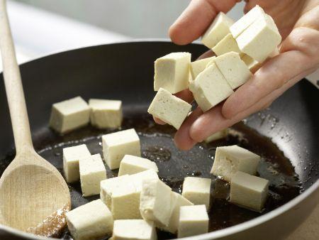 Karamellisierter Tofu: Zubereitungsschritt 8
