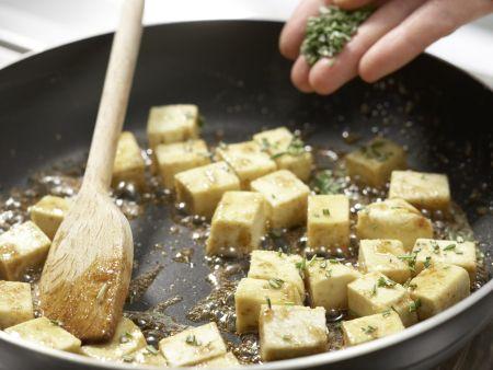 Karamellisierter Tofu: Zubereitungsschritt 9