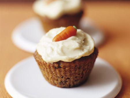 Rezept: Karotten-Cupcake