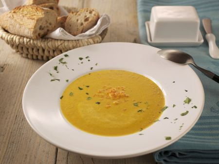 Rezept: Karotten-Ingwer-Suppe