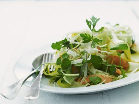 Karottensalat mit Zucchini