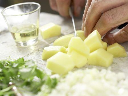 Kartoffel-Blumenkohl-Curry: Zubereitungsschritt 1